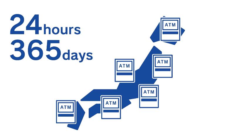 アコムのATM・提携ATMの種類と営業時間まとめ