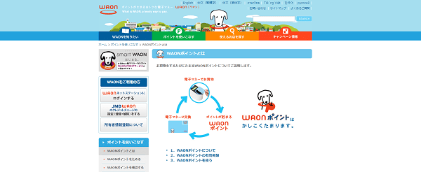 WAONポイント貯めるなら、WAON一体型のクレジットカードで!