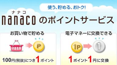 意外とあるよ!nanacoポイントを貯める方法!