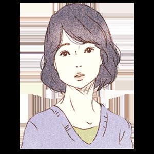 謎の女(石田ゆり子)