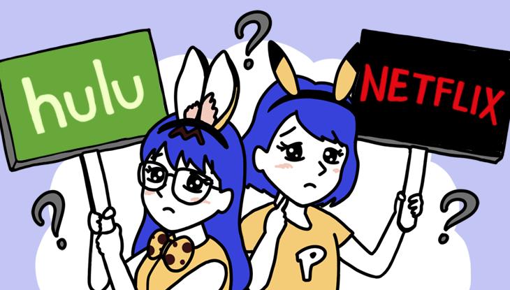 HuluとNetflix、映画を観るならどっち? アニメやドラマの違いも比較!